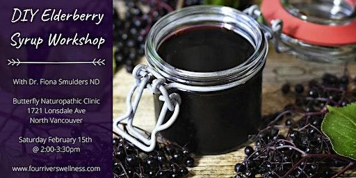 DIY Elderberry Syrup Workshop