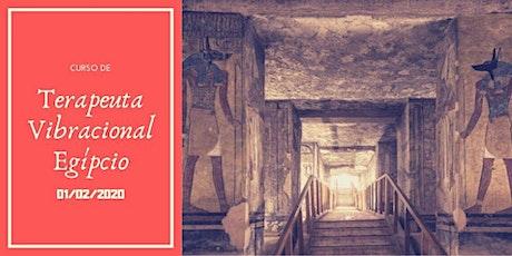 Curso de Terapeuta Vibracional Egípcio ingressos