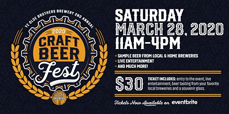 Ye Olde Brothers Craft Beerfest tickets