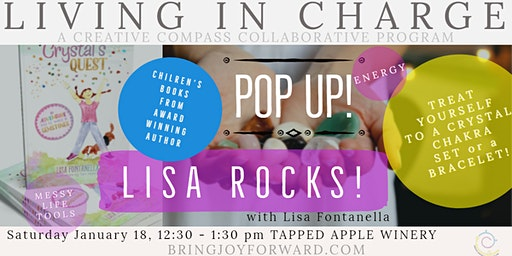 POP UP!  Crystals and Your Chakras with Lisa Fontanella