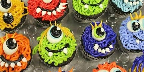 Little Monsters Cupcake Decorating Class