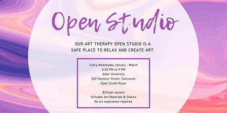 Art Therapy Open Studio tickets
