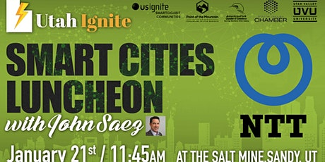January Smart Cities Luncheon with NTT Smart Cities tickets