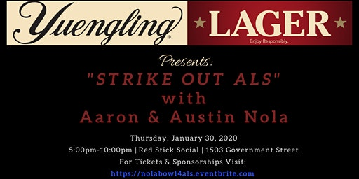 Strike Out ALS with Aaron & Austin Nola