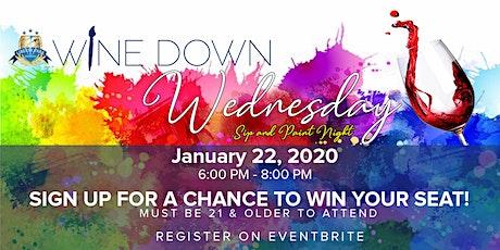 Wine Down Wednesday Jan 2020 tickets
