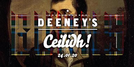Deeney's Burns Ceilidh 2020! tickets