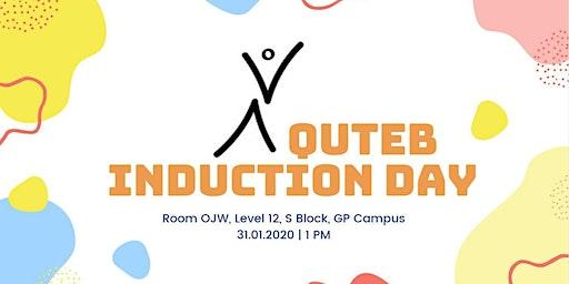 QUTEB Buddy Induction Day