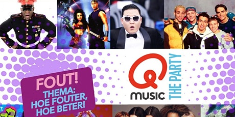Qmusic the Party - 4uur FOUT! komt naar Wessem (Limburg) tickets