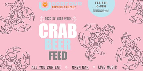 Woodfour Brewing Inaugural Beer & Crab Feed tickets