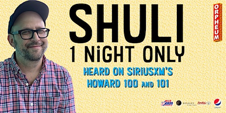 *** CANCELED *** Shuli 1 Night Only tickets