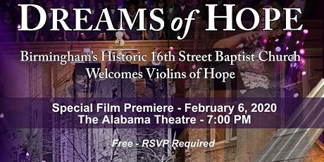 Dreams of Hope - A Special Film Premiere tickets