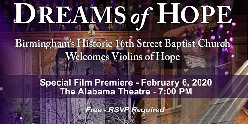 Dreams of Hope - A Special Film Premiere