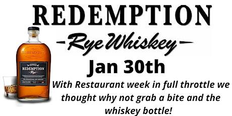 Redemption Whiskey & Casati's Restaurant Week Bite & Sip Event tickets