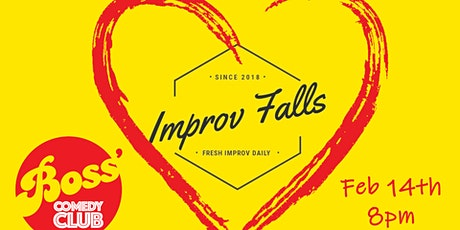 Valentines Day with Improv Falls tickets