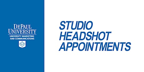 Faculty/Staff  Monthly Headshot Appointments: Loop Campus-March 30, 2020 tickets