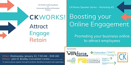 CKWorks: Attract, Engage, Retain - Boosting Online Engagement tickets
