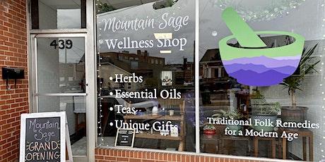 Grand Opening: Mountain Sage Wellness Shop tickets