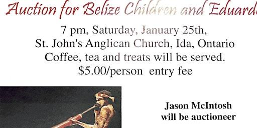 Fun-raising for the children of Bélize and Eduardo Auction