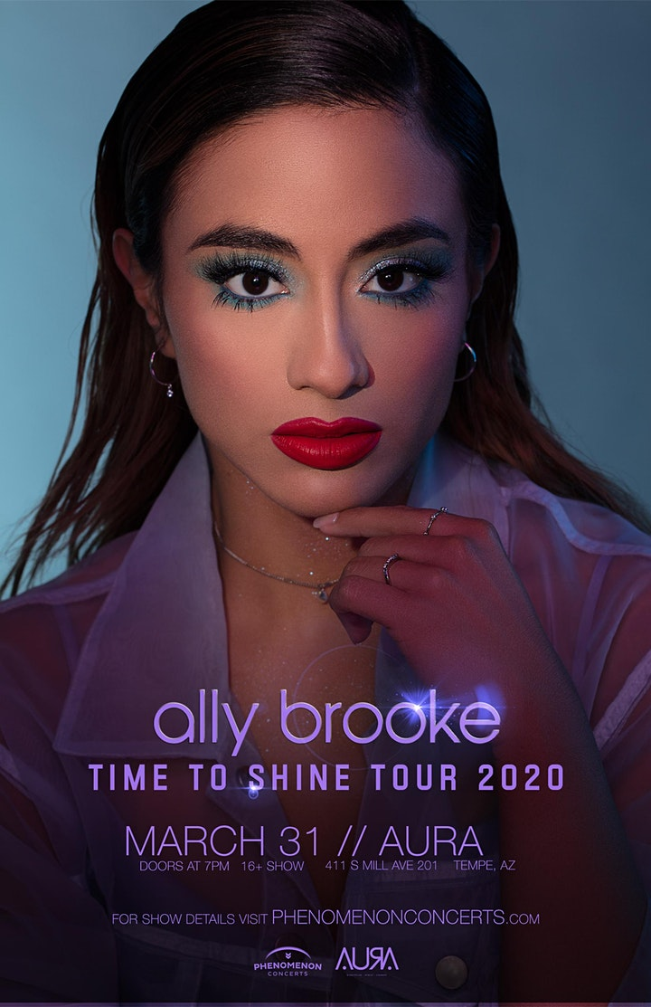 Ally Brooke -Time To Shine Tour image