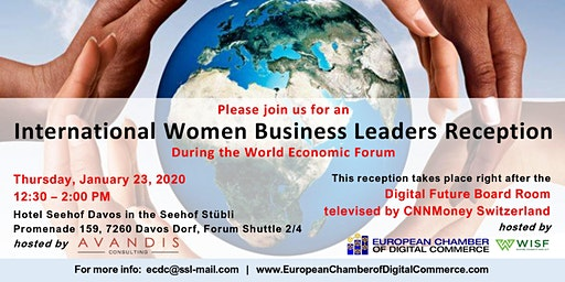 International Women Business Leaders Reception - World Economic Forum