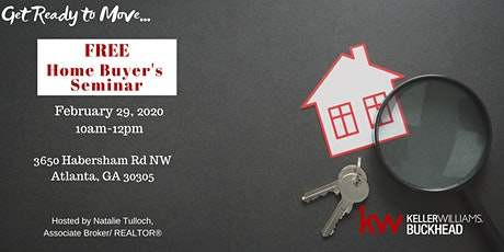 Home Buyer's Seminar - Get Ready to Move in 2020! tickets