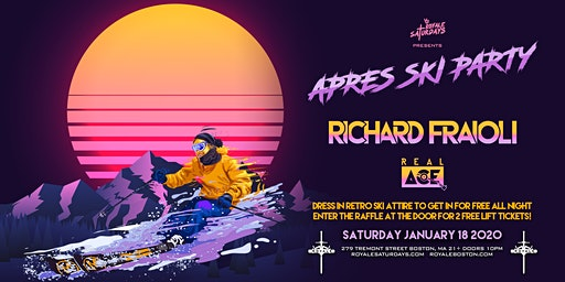 Royale Saturdays: Apres Ski Party