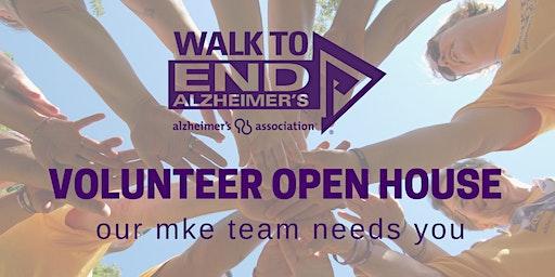 Walk to End Alz | Volunteer Open House