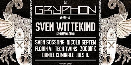 Gryphon pres. Sven Wittekind (sempiternal audio) Tickets