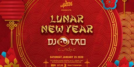 Royale Saturdays: Lunar New Year tickets