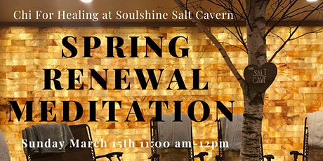 Spring Renewal Meditation with Crystals, Aromatherapy, & Sound Healing tickets