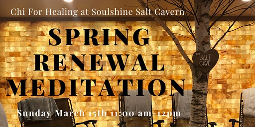Spring Renewal Meditation with Crystals, Aromatherapy, & Sound Healing