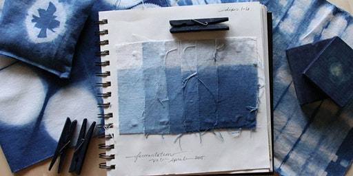 Indigo + Shibori Dyeing Workshop - The Starling at Pond Eddy