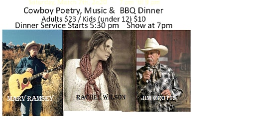 Old General Store & Steakhouse ~ Presents ~ A Night with the Cowboys