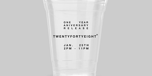 TWENTYFORTYEIGHT® ONE YEAR ANNIVERSARY RELEASE.