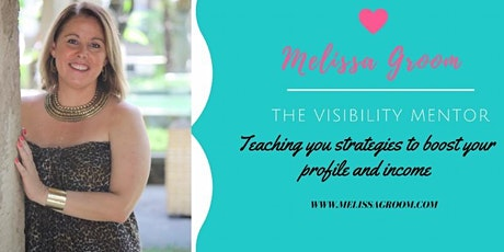 Create Your Web TV Show -MASTERCLASS with Melissa Groom tickets
