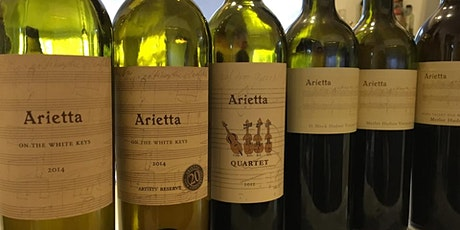 Arietta Wine Dinner ♥ Small wines with big heart ♥ tickets