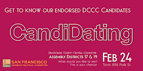 SFWPC's CandiDating: DCCC Edition tickets