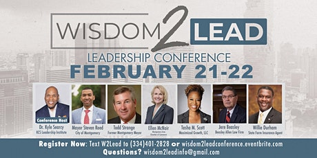 Wisdom 2 Lead Conference tickets