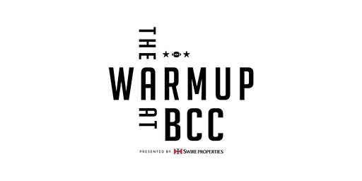 The Warm Up at BCC   The Underline Yoga Session
