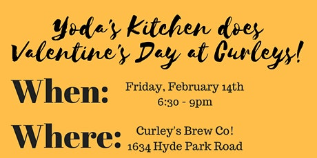 Valentine's Day at Curleys tickets