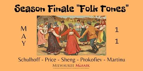 Milwaukee Musaik presents: FOLK TONES tickets
