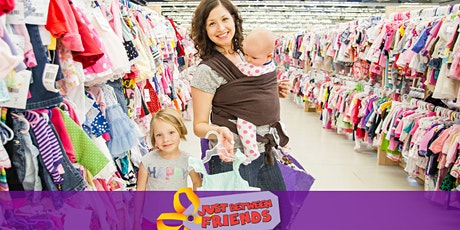 PRIME TIME SHOPPING  PASS - Just Between Friends children's consignment tickets