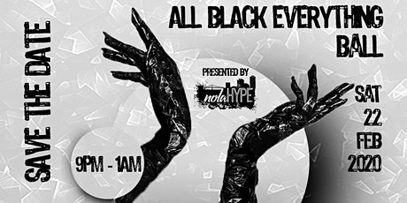 All Black Everything Ball tickets