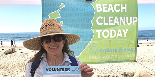 Arroyo Burro Beach Cleanup with Explore Ecology