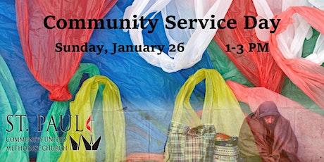 Community Service Day - Making Plastic Sleeping Mats tickets