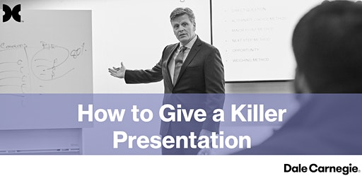 How to Give a Killer Presentation - Tyler