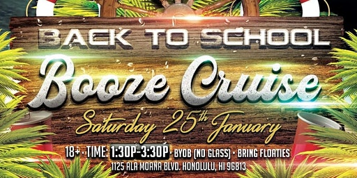 Back to School Booze Cruise