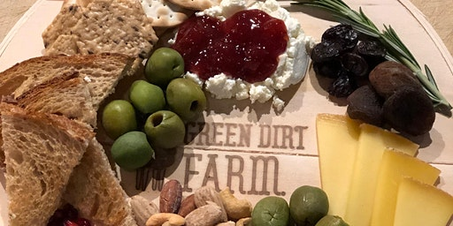 Cheese Board Workshop with Green Dirt Farm