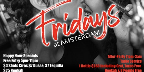 Amsterdam Fridays  tickets