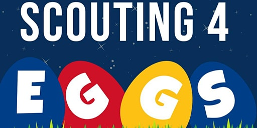 Scouting 4 Eggs Adult Easter Egg Hunt